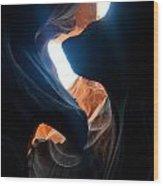 Antelope Canyon Upper 3 Wood Print
