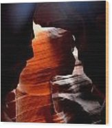 Antelope Canyon Upper 5 Wood Print by Carrie Putz