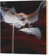 Antelope Canyon Upper 6 Wood Print by Carrie Putz