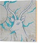 Antelope Invert Wood Print