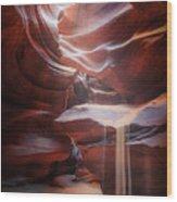 Antelope Sandfall Wood Print