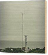 Antenna Wood Print