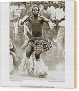 Anthony Howarth Collection - Gold - Sunday Mine Dance 2 - S.a. Wood Print