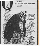Anti-trust Cartoon, 1902 Wood Print
