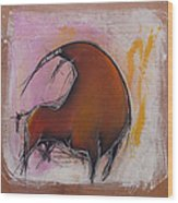 Antibullfight II Wood Print