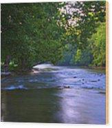 Antietam Creek - Hagerstown Maryland Wood Print
