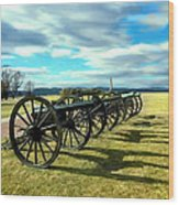 Antietem Battlefield Painting Forsale Wood Print