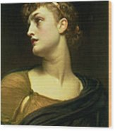 Antigone Wood Print by Frederic Leighton