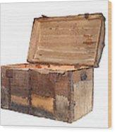 Antique Chest Wood Print