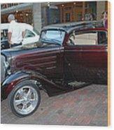Antique Coupe Wood Print