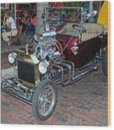 Antique Custom Hotrod Wood Print