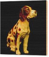 Antique Dog 3 Wood Print