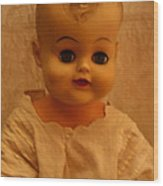 Antique Doll 1 Wood Print