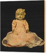 Antique Doll 2 Wood Print