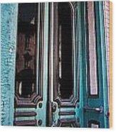 Antique Doors Wood Print