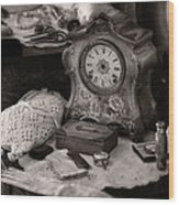 Antique Dresser I Wood Print by Maria Angelica Maira