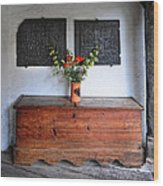 Antique French Chest Wood Print
