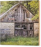 Antique  Grocery Store Wood Print