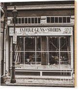 Antique Guns And Swords - French Quarter Wood Print