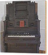 Antique Organ Wood Print