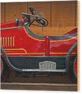 Antique Pedal Car 2 Wood Print