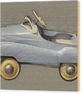Antique Pedal Car Ll Wood Print