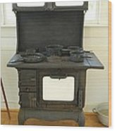 Antique Stove Number 2 Wood Print