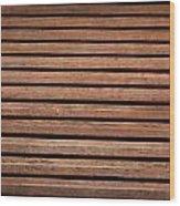 Antique Wood Texture Wood Print
