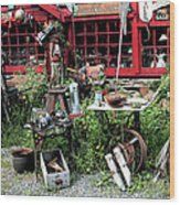 Antiques For Sale Wood Print