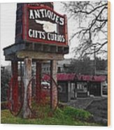 Antiques... That Way Wood Print by Glenn McCarthy Art and Photography