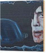 Anton Chigurh No Country For Old Men Wood Print