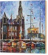 Antwerp - Belgium Wood Print