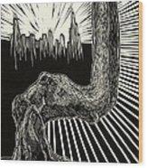 Anyway Wood Print by David Honaker