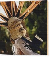 Apache Dancer Wood Print