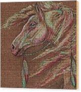 Apache Spirit Wood Print