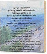 Apache Wedding Prayer Wood Print