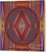 Apache Wind 2012 Wood Print