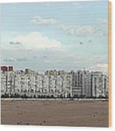 Apartment Blocks At The Waterfront, St Wood Print