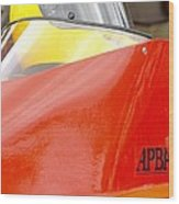 Apba Boat And Helmet 24291 Wood Print