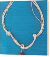 Aphrodite Genetyllis Necklace Wood Print by Augusta Stylianou