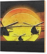 Apocalypse Now Wood Print by Mo T