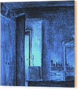 Apocalypsis 2001 Or Abandoned Soul Wood Print
