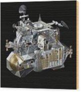 Apollo Lunar Module Ascent Stage Wood Print