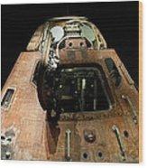 Apollo Space Capsule Wood Print