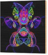 Apophysis Puppy Wood Print