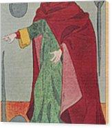 Apothecary, 15th Century Wood Print