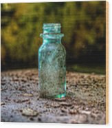 Apothecary Bottle Wood Print