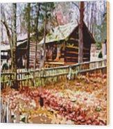 Appalachian Autumn Wood Print