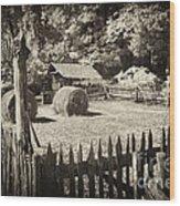 Appalachian Barnyard Wood Print