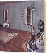 Appalachian Carousel Wood Print